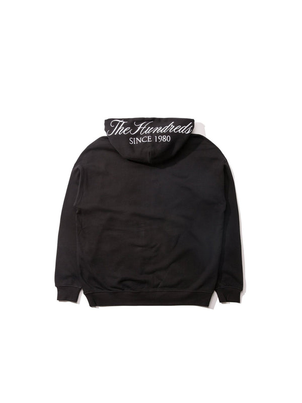 The Hundreds Dubs Zip-Up Hoodie Black