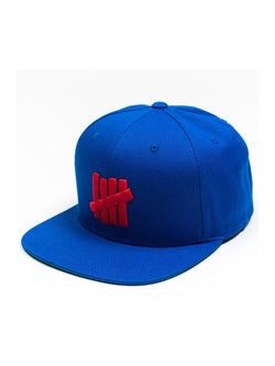 Undefeated 5 Strike Cap Blue