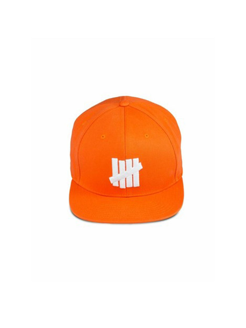 Undefeated 5 Strike Cap Orange