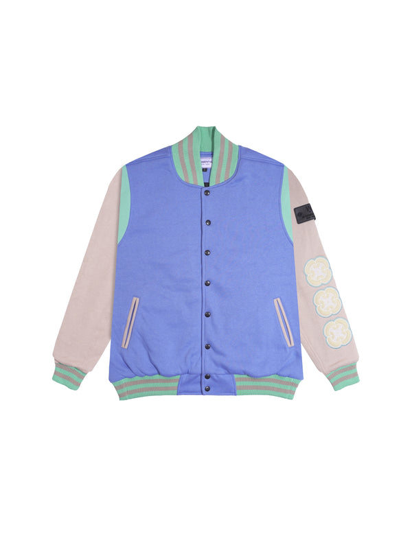 W.ESSENTIELS Venant Collegiate Varsity Jacket Tiffany Diamond