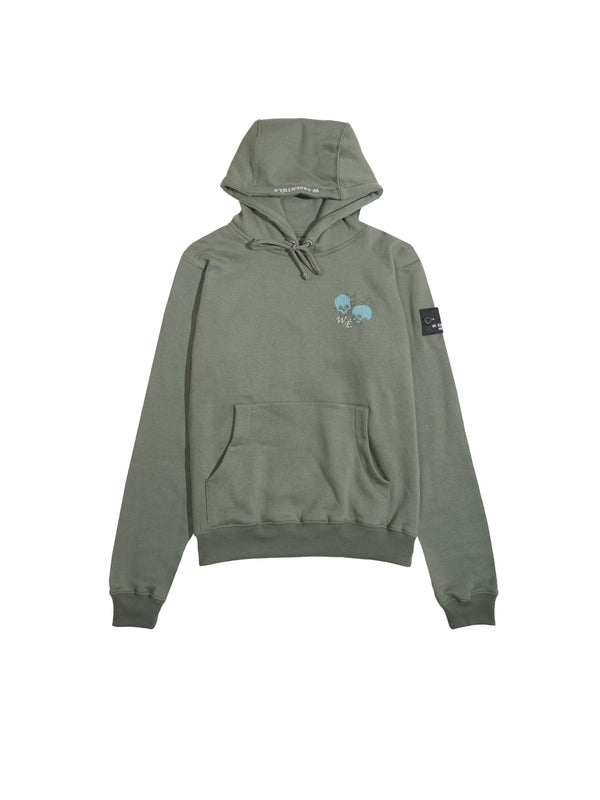 W.ESSENTIELS Franclet Hoodie + Sweat Sets Olive