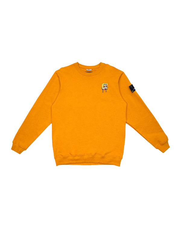 W.ESSENTIÉLS x NEVER TOO OLD Sweater Spongebob Type Due Crewneck