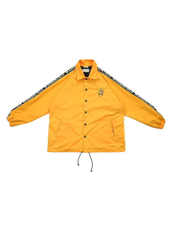 W.ESSENTIÉLS x NEVER TOO OLD Jaket Spongebob Stadium Windbreaker
