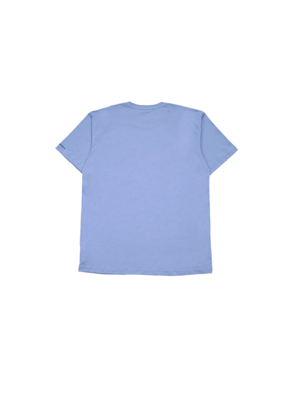 W.ESSENTIÉLS x NEVER TOO OLD Squidward Boxy Cut T-shirt Cerulean