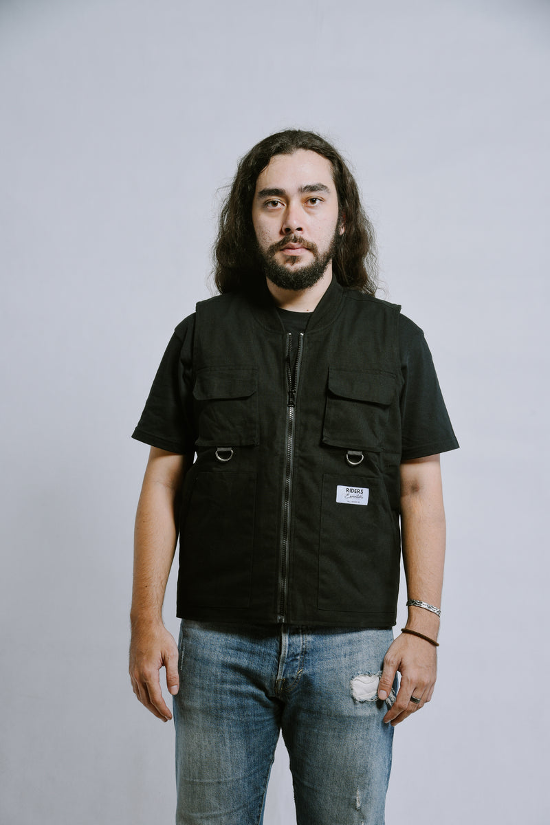 W.ESSENTIÉLS x Riders & Rules General Strike Tactical vest
