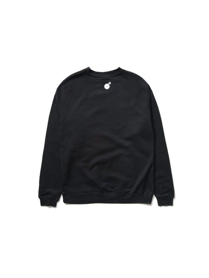 Bar Logo Crewneck Black