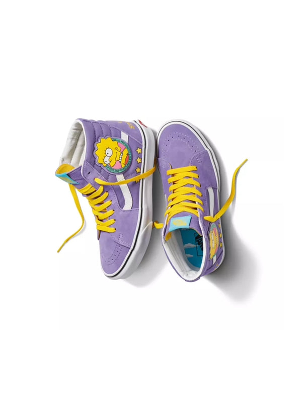 The Simpsons X Vans Sk8 Hi Liza for Prez
