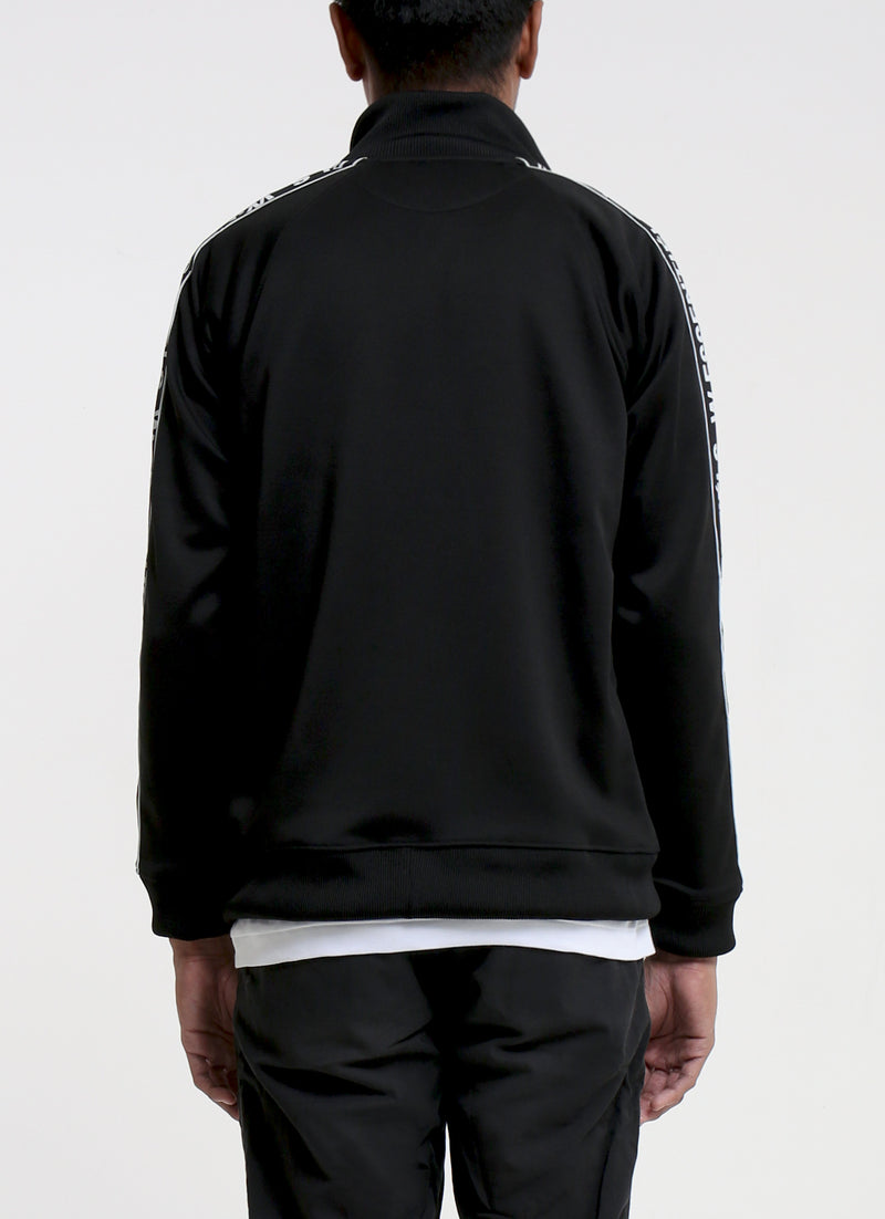 Florent Tracktop Jacket Noir Black
