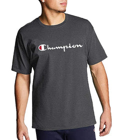 Champion Heritage Script Charcoal Grey