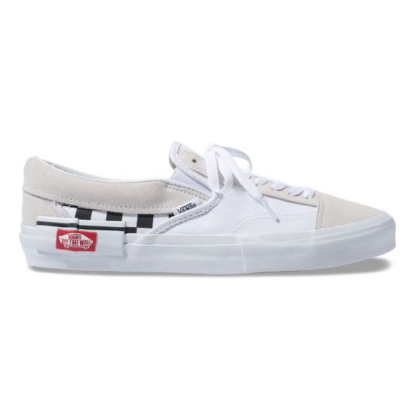 SLIP-ON CAP (CHECKERBOARD) TRUE WHITE/BLACK