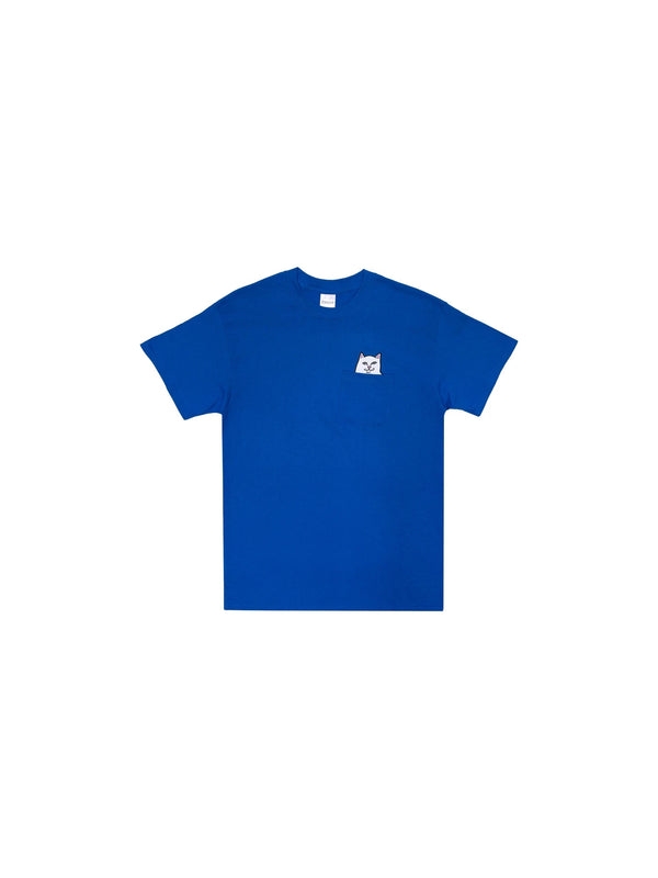 Lord Nermal Pocket Tee Royal Blue