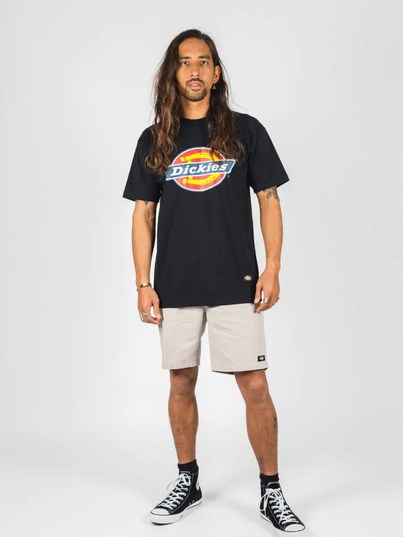 H.S CLASSIC CLASSIC FIT S/S TEE BLACK