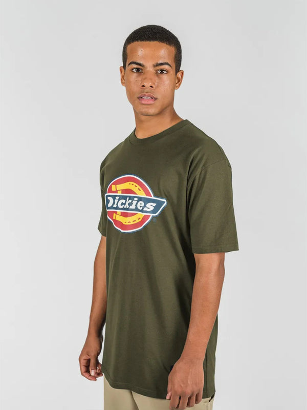 H.S CLASSIC CLASSIC FIT S/S TEE OLIVE