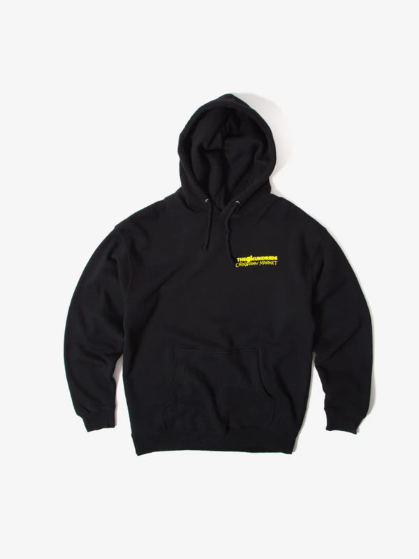 The Hundreds x Chinatown Crossout Adam Pullover Black