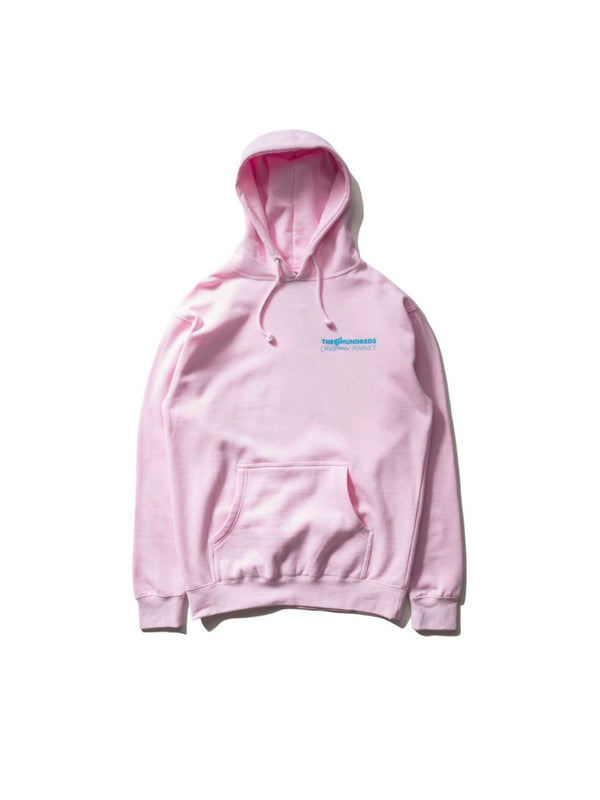 The Hundreds x Chinatown Crossout Adam Pullover Pink