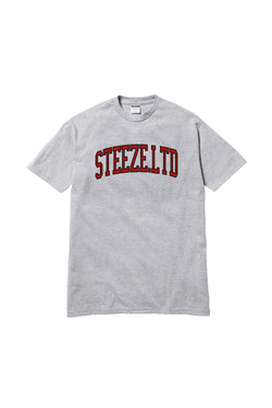 Steeze League Tee Heather Grey