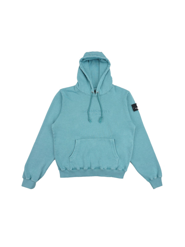 Ecume Oversize Pigment-Dyed Project Hoodie Ocean Blue