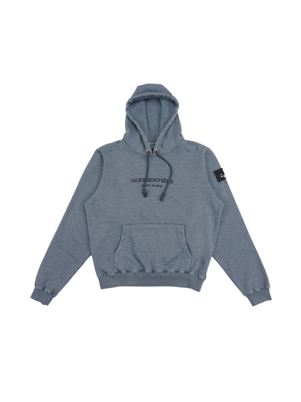 Ecume Oversize Pigment-Dyed Project Hoodie Pigeon
