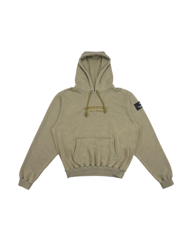 Ecume Oversize Pigment-Dyed Project Hoodie Sage