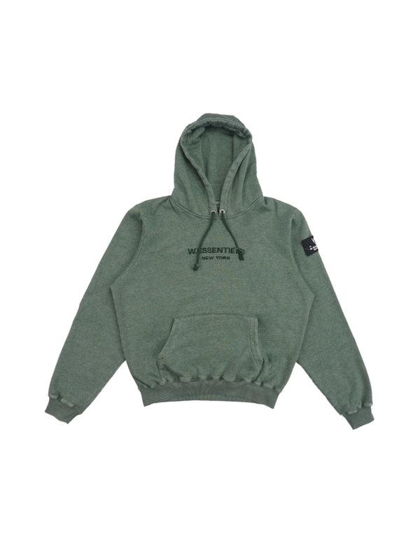 Ecume Oversize Pigment-Dyed Project Hoodie Viridian