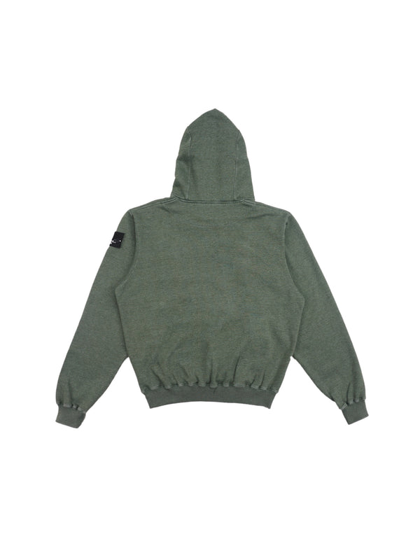 Ecume Oversize Pigment-Dyed Project Hoodie Emerald