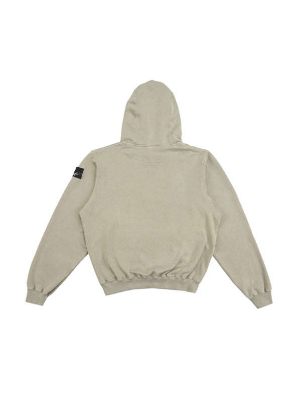Ecume Oversize Pigment-Dyed Project Hoodie Artichoke