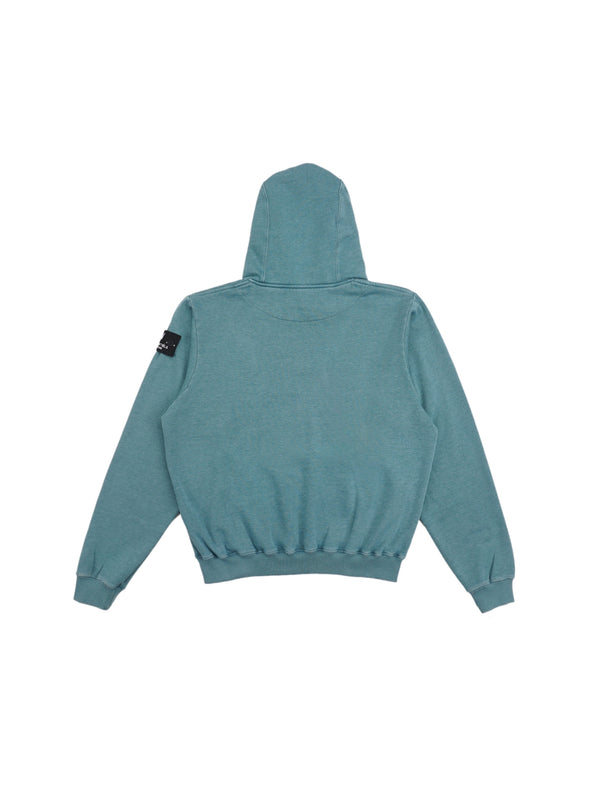 Ecume Oversize Pigment-Dyed Project Hoodie Teal