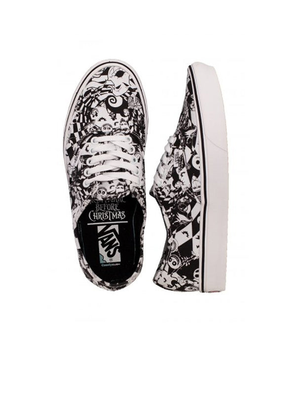 Vans X Nightmare Before Christmas Comfycush Authentic Multichecker Nightmare