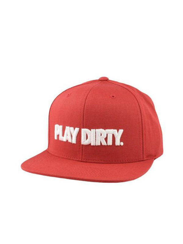 Undefeated Play Dirty Cap Red
