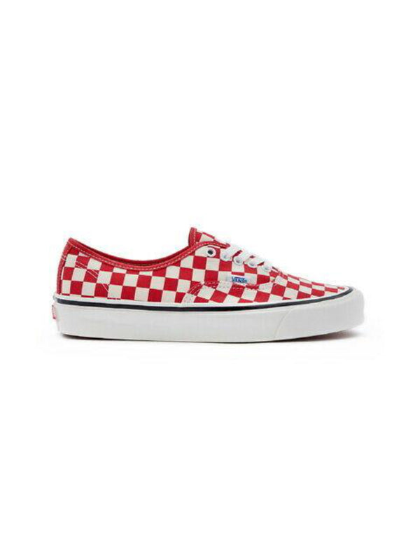 VANS ANAHEIM FACTORY AUTHENTIC 44 DX SHOES RED CHECKER