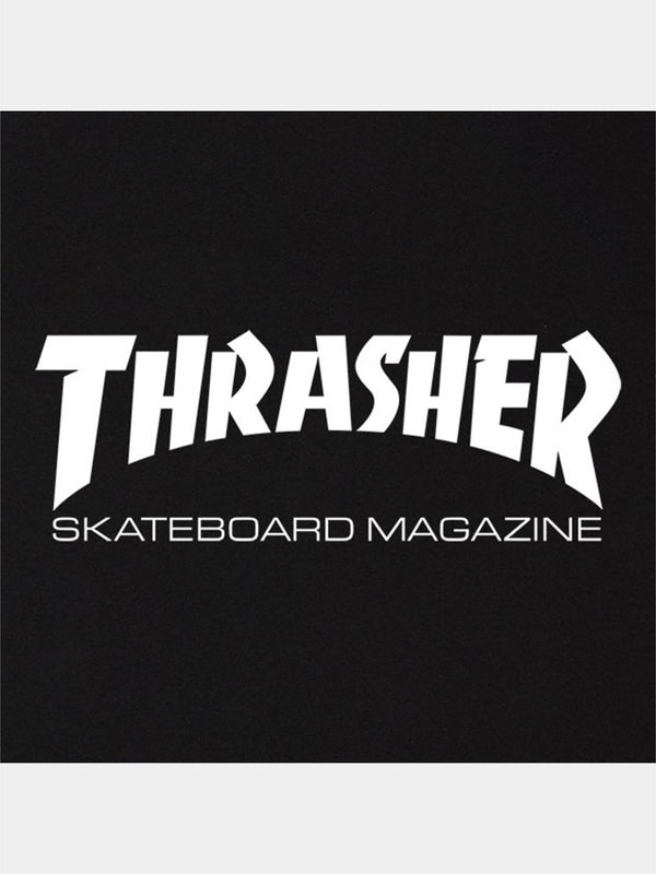 Thrasher Skate Mag Long Sleeve Tee Black