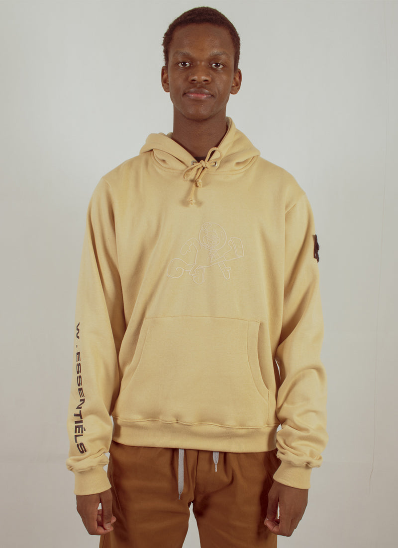 W.ESSENTIÉLS x NEVER TOO OLD | Spongebob - Sandy Hoodie Sand