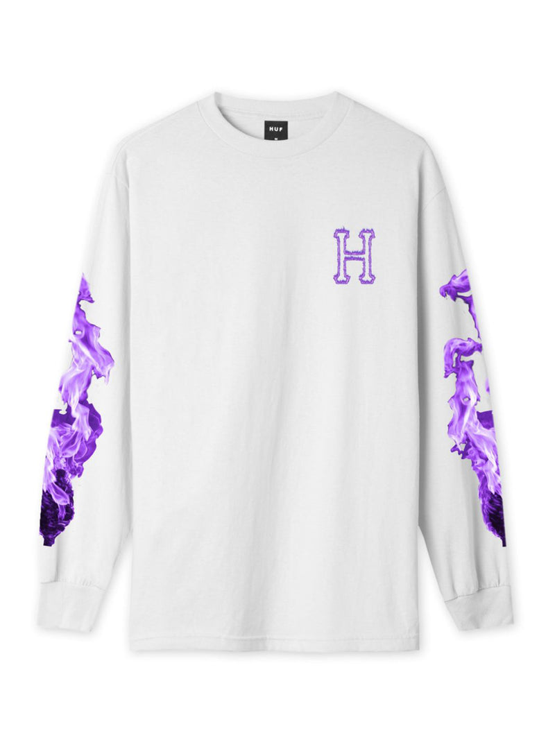 HUF Screw Head Classic H Long Sleeve T-Shirt White