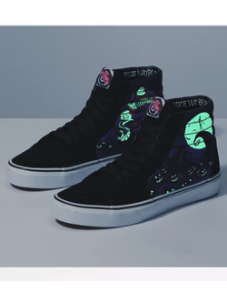 Vans x Nightmare Before Christmas Sk8 Hi Jack's Lament