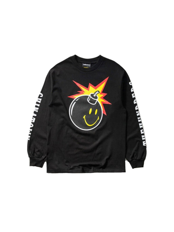 The Hundreds x Chinatown Smiley Adam L/S Shirt