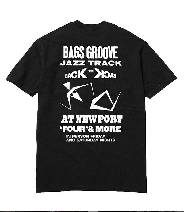 Steeze Bags Groove Tee Black