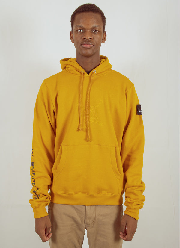 W.ESSENTIÉLS x NEVER TOO OLD | Spongebob - Spongebob Hoodie Mustard