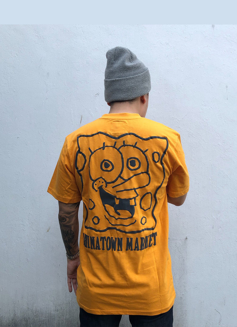 Chinatown x Spongebob Face Tee Orange