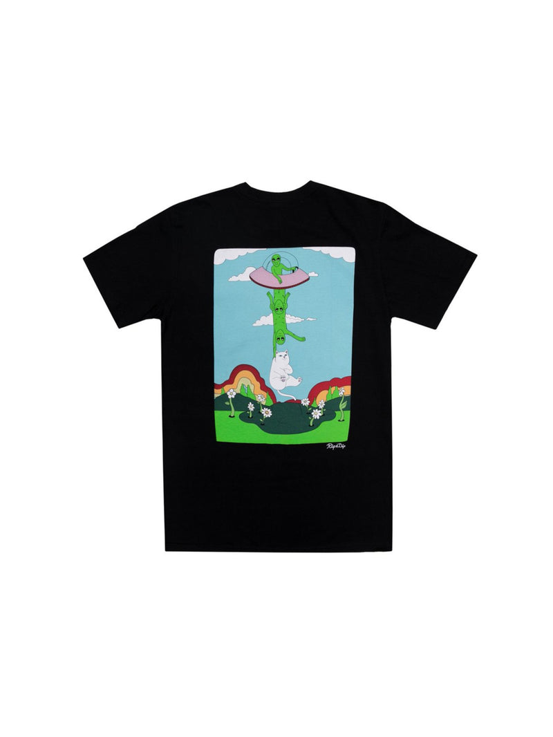 Abduction Pocket Tee Black