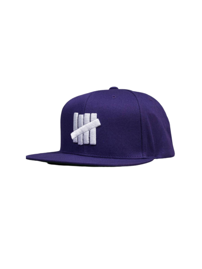 Undefeated 5 strike Cap Purple/White