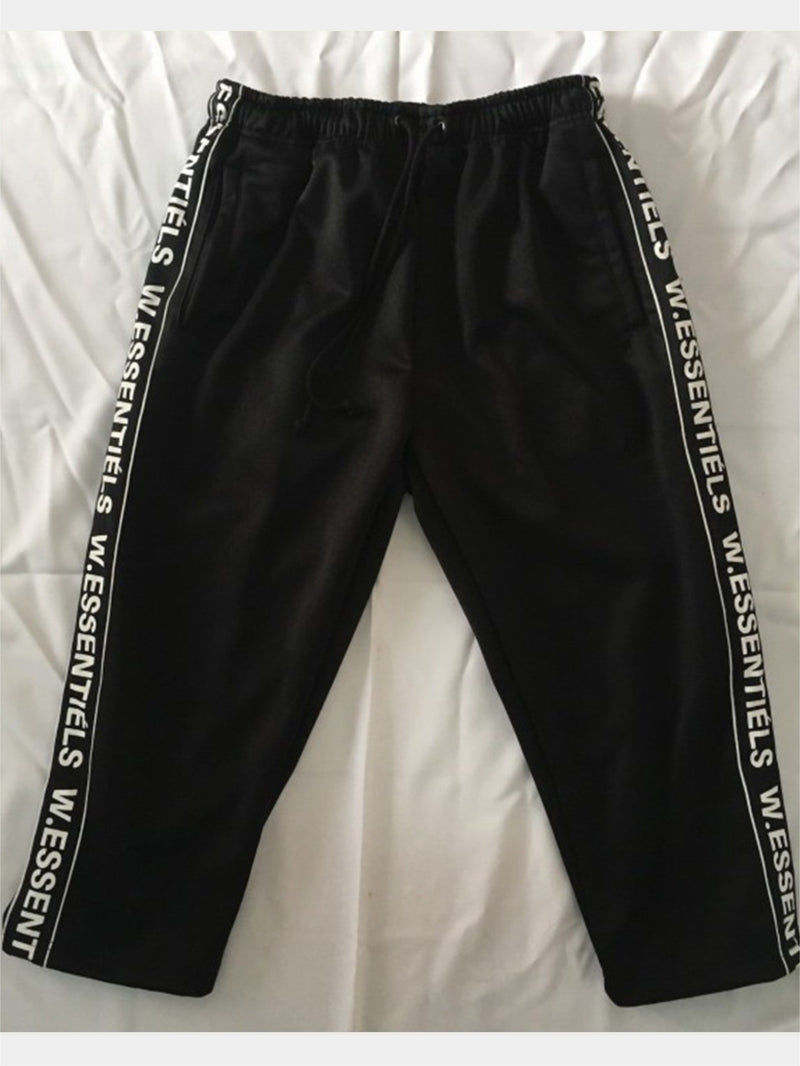 Florent Track Pants Noir Black