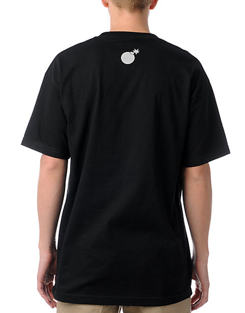 Bar Logo T-Shirt Black