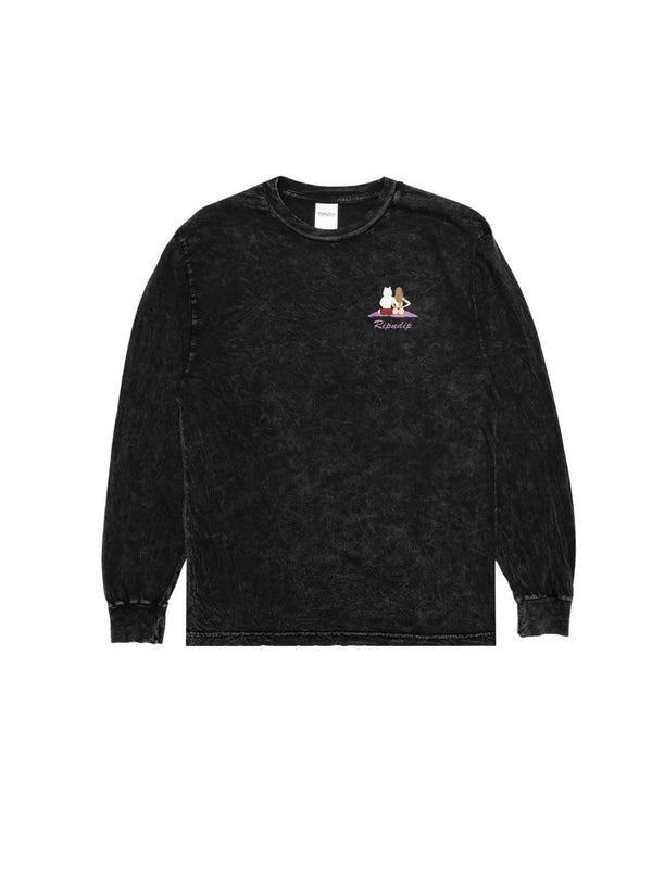 Suns Out Buns Out L/S Black Mineral Wash