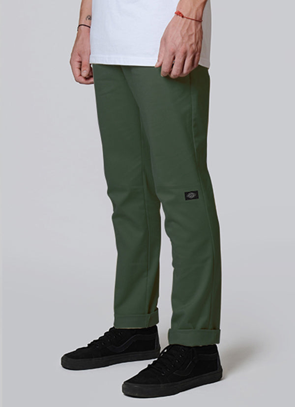 Dickies WP918 Slim Fit Double Knee - Army Green
