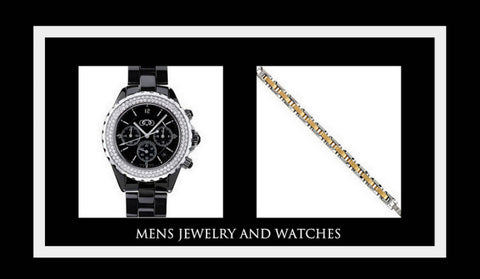 Men's Jewelry and Watches