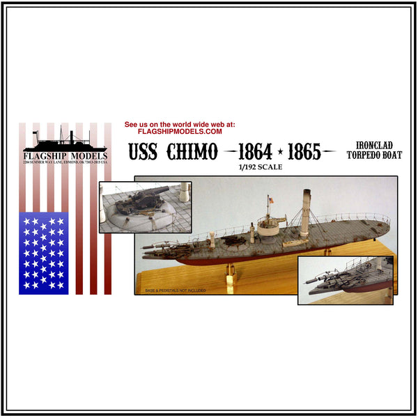 "USS CHIMO Torpedo Boat (14.5"" long, detail set incl.)"