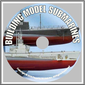 HOW TO CD: BUILDING STATIC SUBMARINE MODELS by Kenneth Goldman (9 pages)