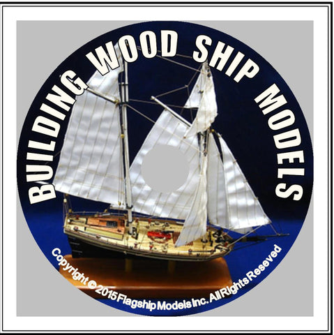 HOW TO CD: BUILDING WOOD SHIP MODELS by Greg Murphy (10 pgs)