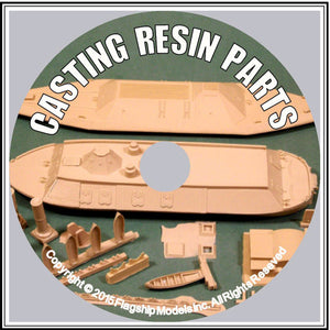 HOW TO CD: CASTING RESIN PARTS by Rusty White (10 pgs)