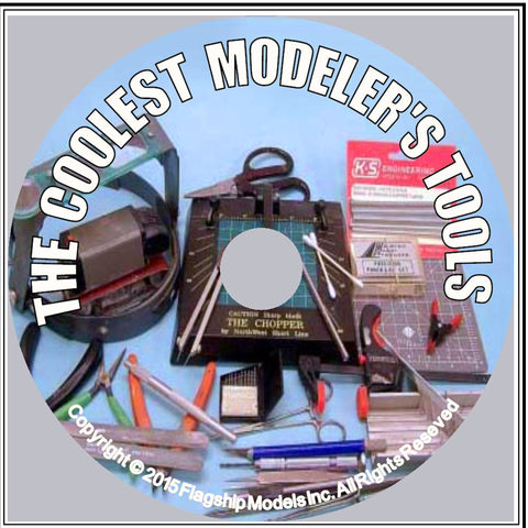 HOW TO CD: THE COOLEST MODELERS' TOOLS by Rusty White (16pgs)
